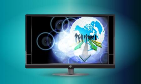 work worker workforce world: Business team