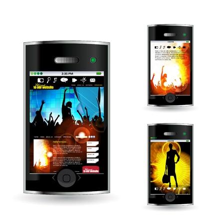 Smart phone Stock Vector - 14378943
