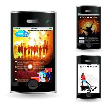Smart phone Stock Vector - 14378944