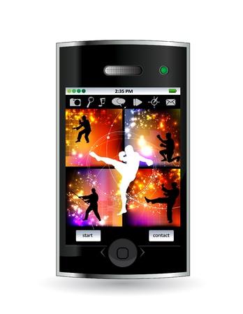 Smart phone Stock Vector - 14378948