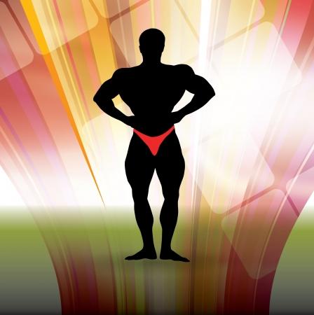 deltoids: Bodybuilding illustration