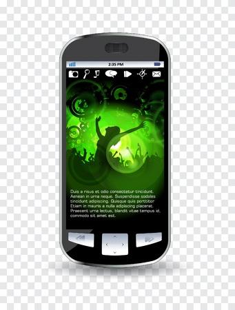 clubing: Smartphone editable