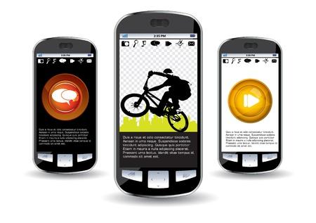 Smartphone editable  Vector