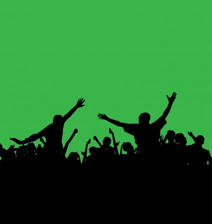 Dance party Stock Vector - 14338319