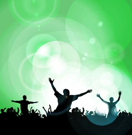 Dance party Stock Vector - 14338335