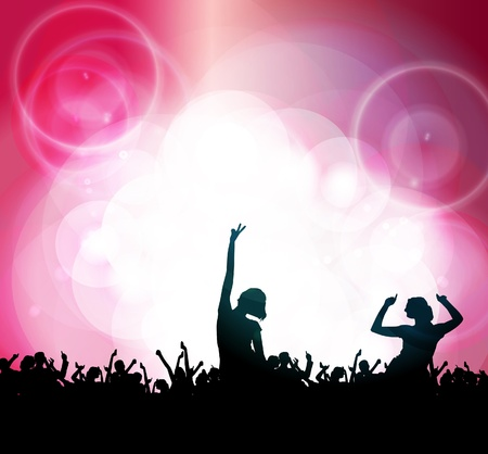 Dance party Stock Vector - 14338340