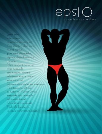 deltoids: Sport illustration