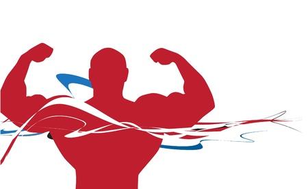 hombre deportista: Atleta del hombre