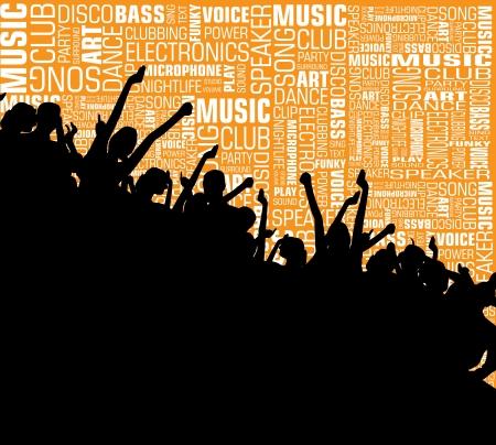 Music event background photo