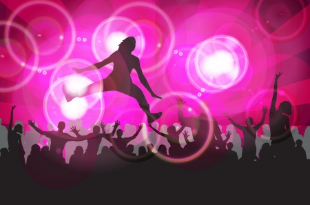 party people vector background Stock Vector - 15184612