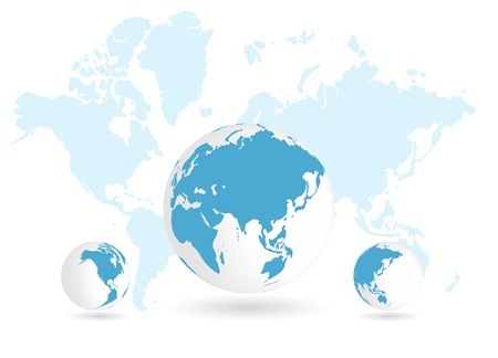 World map Stock Vector - 15184673