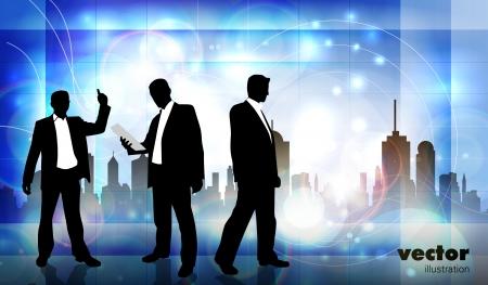 Business team Stock Vector - 15241044