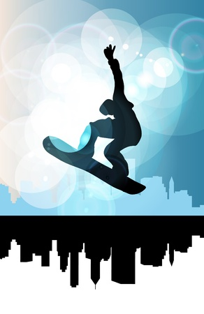 Snowboarder photo