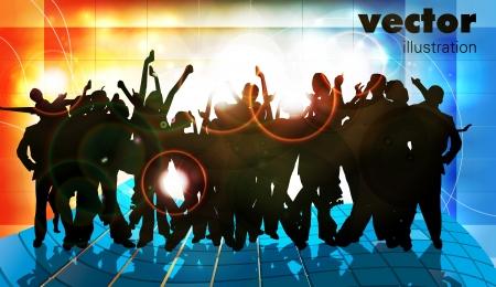 gente bailando: Música concepto