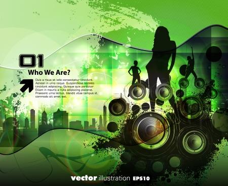 Music illustration Stock Vector - 15030681