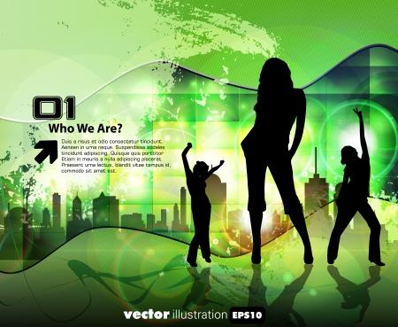 Music illustration Stock Vector - 15030682