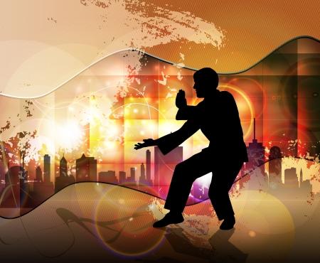 Karate  Sport illustration illustration