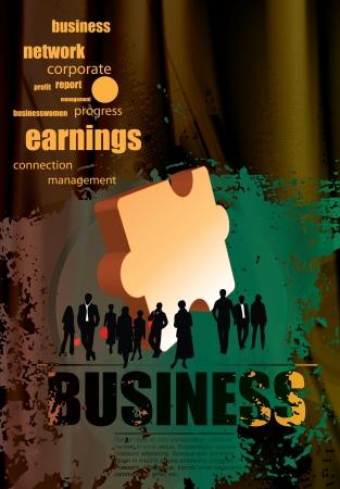 earning: Business team