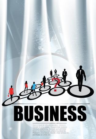 the enterprises: Business concept