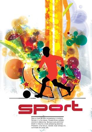 Soccer Player Stock Vector - 15123375