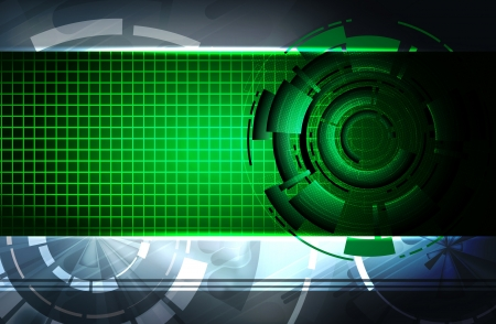 Futuristic technical background photo
