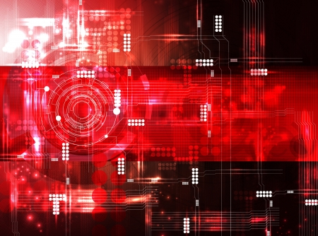 Futuristic technical background Stock Photo - 15229642