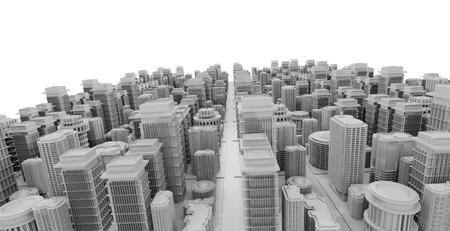 DOWN TOWN: 3d city