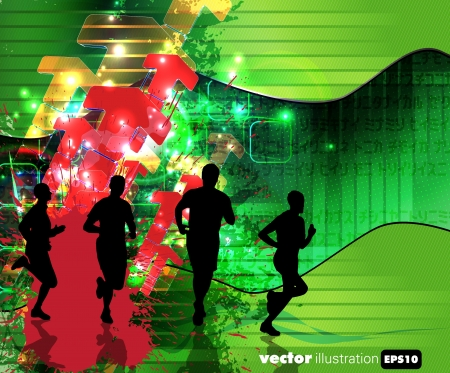 Sport illustration