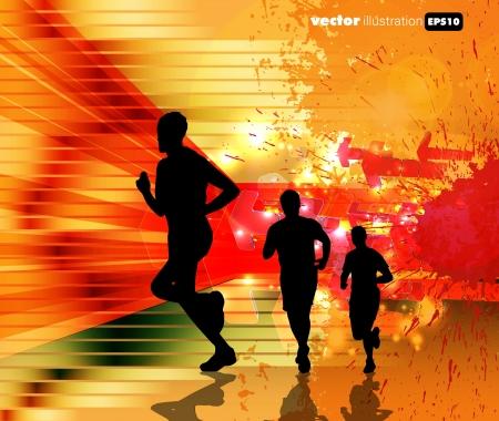 практика: Спорт иллюстрации