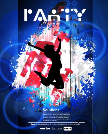 Concert poster  Vector illustration Stock Vector - 15338653