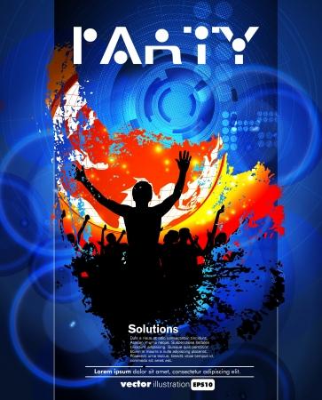 Concert poster  Vector illustration Stock Vector - 15338642