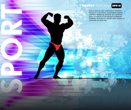 Gym background Vector