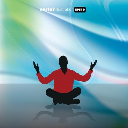 Meditation Stock Vector - 15741635