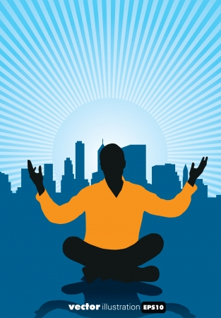 Meditation Stock Vector - 15741632