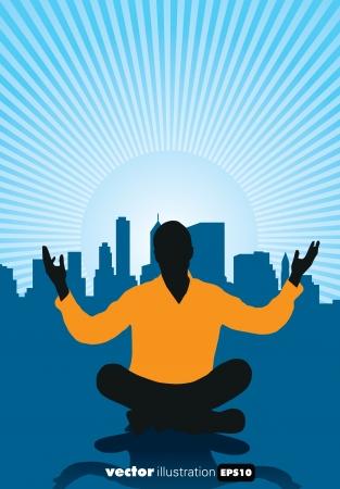 Meditation Stock Vector - 15741632