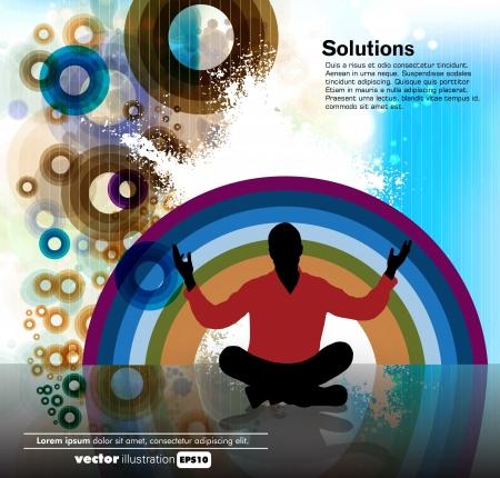 Meditation Stock Vector - 15785994