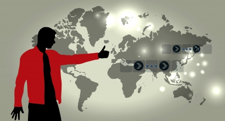 Business illustration illustration