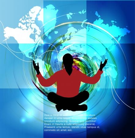 Meditation Stock Vector - 15981989