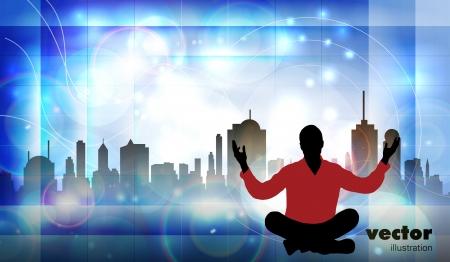Meditation Stock Vector - 15981990