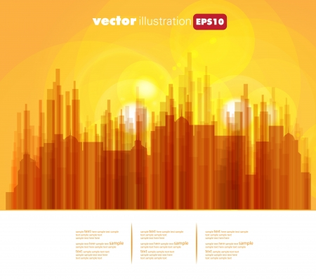 City Landscape Stock Vector - 15604082
