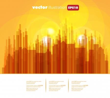 City Landscape Stock Vector - 15604082