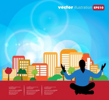 Meditation Stock Vector - 15981993