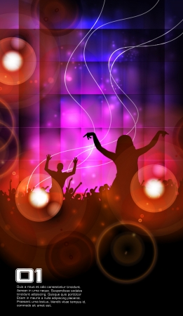 Concert  illustration Ilustracja