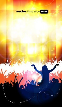 Concert  illustration Vector