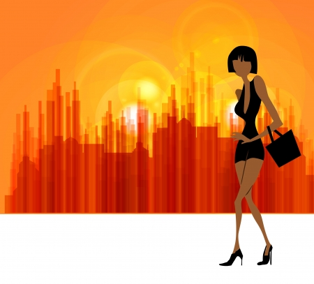 loafer: Fashion woman Stock Photo