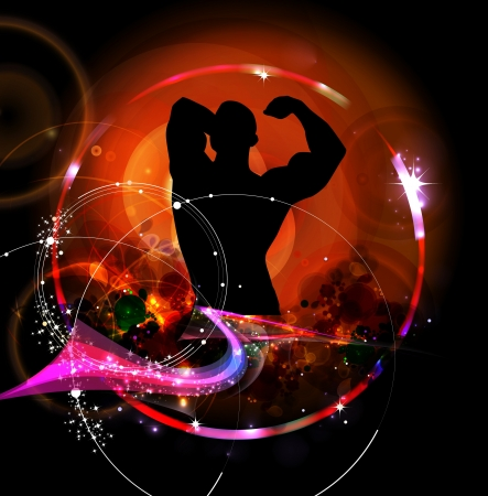 is masculine: Bodybuilding
