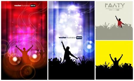 slovenly: Music event illustration set Illustration