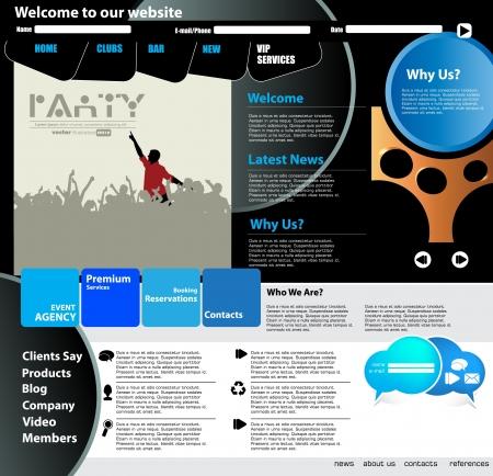 Web design template Stock Vector - 15851084
