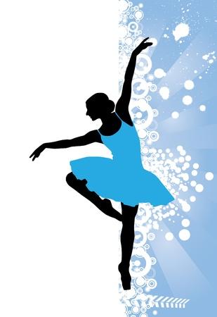 illustration of ballet illustration