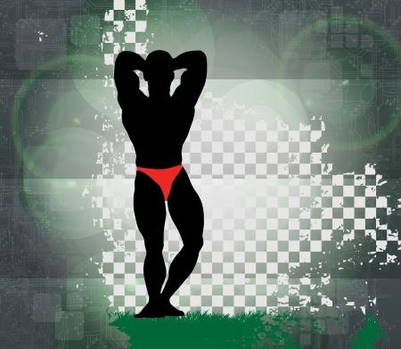 male bodybuilder: Bodybuilding